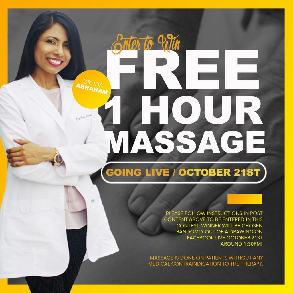 October Special, Chiropractic Special, Free Massage, Massage, Chiropractic
